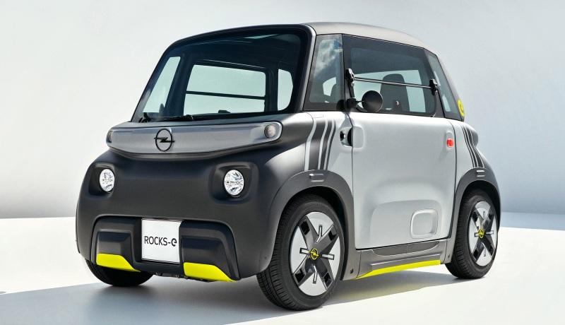 Маленький электромобиль Citroen превратился в Opel