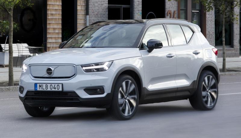 Марка Volvo скоро начнет предлагать электромобили в России
