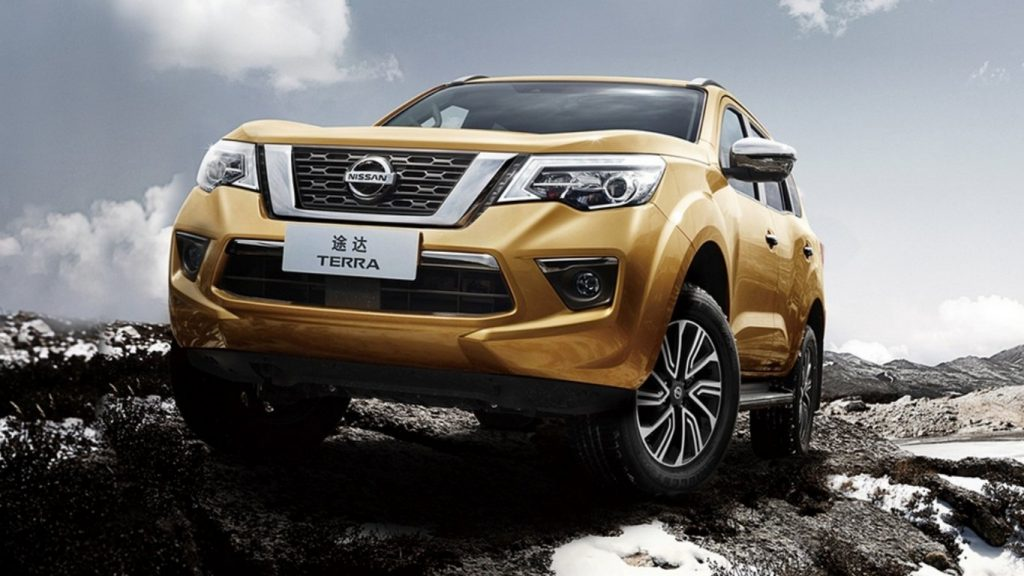 Обновлённый рамный внедорожник Nissan Terra: главное отличие от X-Terra – под капотом
