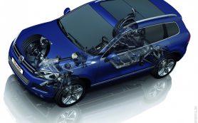 Пневмоподвеска для моделей Volkswagen