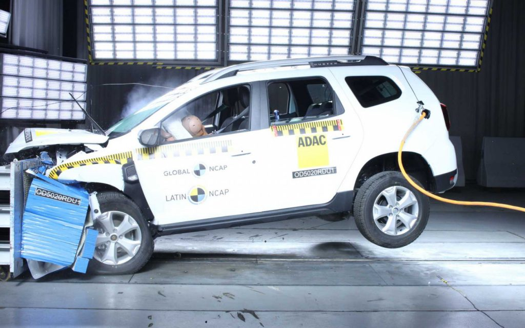 Renault Duster провалил латиноамериканский краш-тест