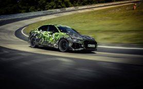 Audi RS 3 установил новый рекорд скорости на Нюрбургринге