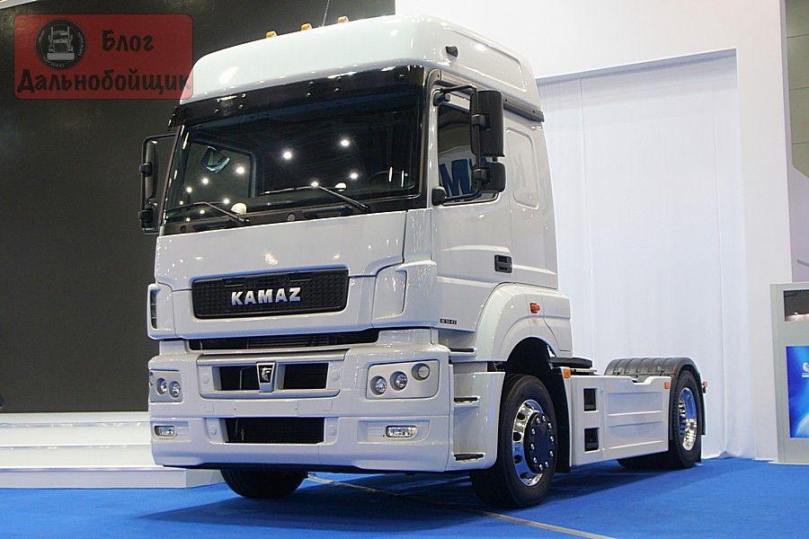 Новый КАМАЗ получил эксклюзивный цвет