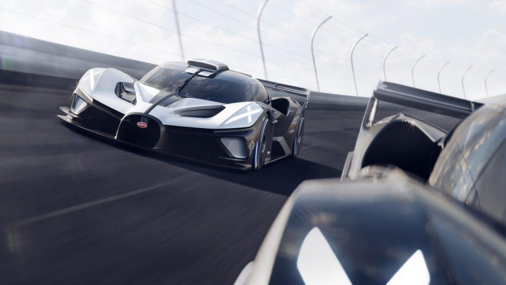 Серийный Bugatti Bolide оказался слабее и тяжелее прошлогоднего концепта