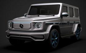 «Розеточный» Gelandewagen: серийный Mercedes-Benz EQG дебютирует позже, чем ожидалось