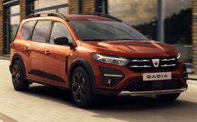 Dacia представила семиместный универсал Jogger, аналогичный «Ларгусу»