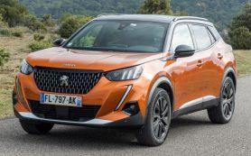 В России стартовали продажи кроссоверов Peugeot 2008 с мощным мотором