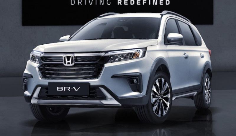 Honda представила новый кроссовер BR-V для азиатского рынка