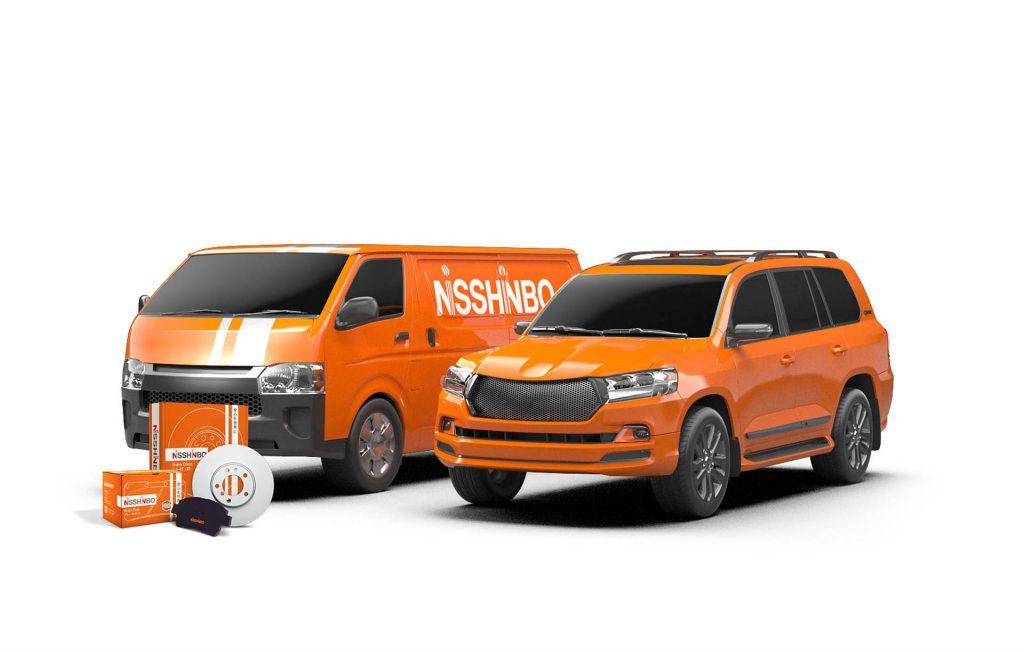 Nisshinbo представил тормозные колодки Strong Ceramic для внедорожников и LCV