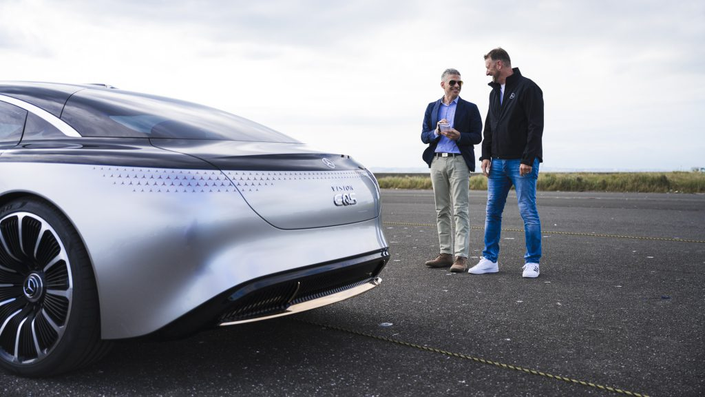 Audi Grandsphere: будущий конкурент Mercedes-Benz EQS с убирающимся рулём