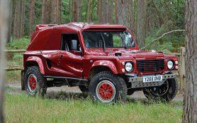 20-летний внедорожник Bowler Wildcat на агрегатах Land Rover продают по цене нового BMW X5