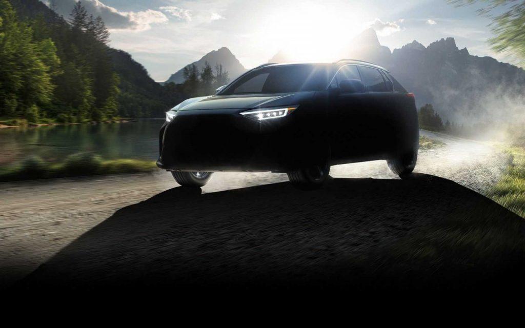 Subaru Solterra: первые фото и подробности