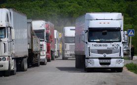 На российско-литовской границе скопилось более 100 фур
