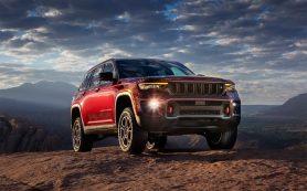 Jeep представил новый Grand Cherokee. Внедорожник привезут в Россию