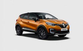 Renault представил спецверсию кроссовера Kaptur для России