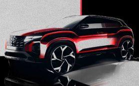 Кроссовер Hyundai Creta готовится к обновлению