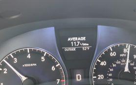 Расход топлива моделей Lexus