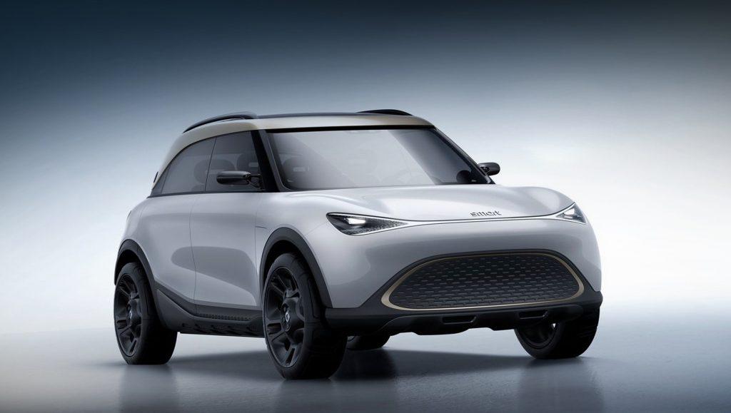 Серийный паркетник бренда Smart запатентован в Европе