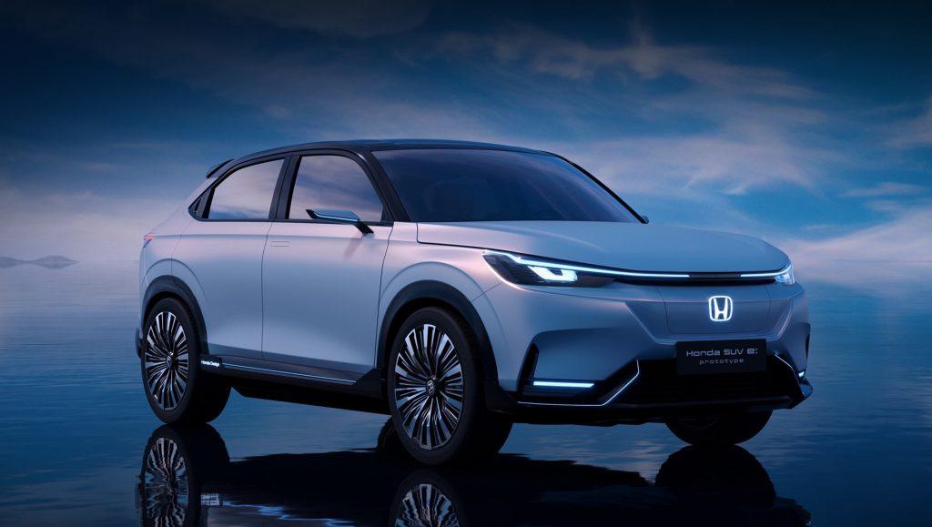 Honda HR-V перешла на электротягу в версии e:NS1 для Китая