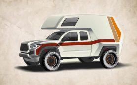 Toyota Tacoma TRD превратят в дом на колесах
